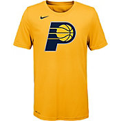 Nike Youth Indiana Pacers Dri-FIT Gold Logo T-Shirt