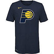 Nike Youth Indiana Pacers Dri-FIT Navy Logo T-Shirt