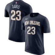 Nike Youth New Orleans Pelicans Anthony Davis #23 Dri-FIT Navy T-Shirt