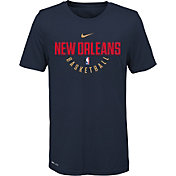 Nike Youth New Orleans Pelicans Dri-FIT Navy Practice T-Shirt