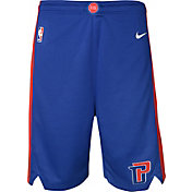 Nike Youth Detroit Pistons Dri-FIT Royal Swingman Shorts