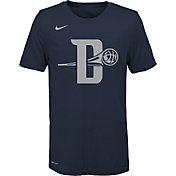 Nike Youth Detroit Pistons Dri-FIT City Edition Logo T-Shirt