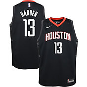 Nike Youth Houston Rockets James Harden #13 Black Statement Dri-FIT Swingman Jersey
