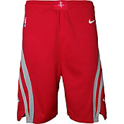 Nike Youth Houston Rockets Dri-FIT Red Swingman Shorts
