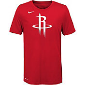 Nike Youth Houston Rockets Dri-FIT Red Logo T-Shirt