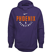 Nike Youth Phoenix Suns Therma-FIT Purple Practice Performance Hoodie