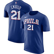Nike Youth Philadelphia 76ers Joel Embiid #21 Dri-FIT Royal T-Shirt