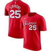 Nike Youth Philadelphia 76ers Ben Simmons #25 Dri-FIT Red T-Shirt