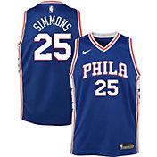 Nike Youth Philadelphia 76ers Ben Simmons #25 Royal Dri-FIT Swingman Jersey