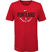 Nike Youth Portland Trail Blazers Dri-FIT Red Practice T-Shirt