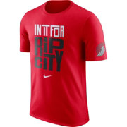 "Nike Youth Portland Trail Blazers Dri-FIT ""In It For Rip City"" Red T-Shirt"