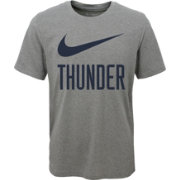 Nike Youth Oklahoma City Thunder Dri-FIT Legend Grey T-Shirt