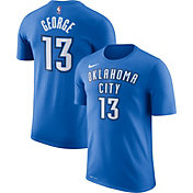 Nike Youth Oklahoma City Thunder Paul George #13 Dri-FIT Blue T-Shirt