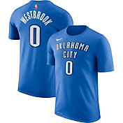Nike Youth Oklahoma City Thunder Russell Westbrook #0 Dri-FIT Blue T-Shirt