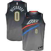 Nike Youth Oklahoma City Thunder Russell Westbrook Dri-FIT City Edition Swingman Jersey