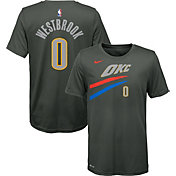 Nike Youth Oklahoma City Thunder Russell Westbrook Dri-FIT City Edition T-Shirt