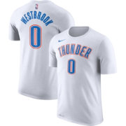 Nike Youth Oklahoma City Thunder Russell Westbrook #0 Dri-FIT White T-Shirt
