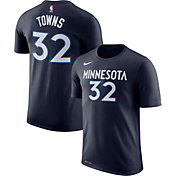 Nike Youth Minnesota Timberwolves Karl-Anthony Towns #32 Dri-FIT Navy T-Shirt