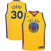 Nike Youth Golden State Warriors Steph Curry Dri-FIT City Edition Swingman Jersey
