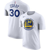 Nike Youth Golden State Warriors Stephen Curry #30 Dri-FIT White T-Shirt