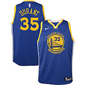 Nike Youth Golden State Warriors Kevin Durant #35 Royal Dri-FIT Swingman Jersey