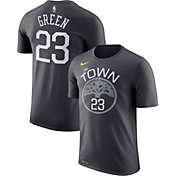 Nike Youth Golden State Warriors Draymond Green #23 Dri-FIT Grey T-Shirt