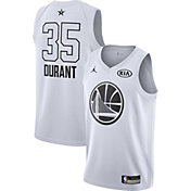 Jordan Youth 2018 NBA All-Star Game Kevin Durant White Dri-FIT Swingman Jersey