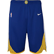 Nike Youth Golden State Warriors Dri-FIT Royal Swingman Shorts