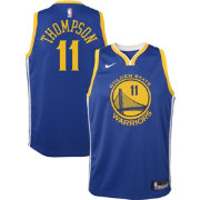 Nike Youth Golden State Warriors Klay Thompson #11 Royal Dri-FIT Swingman Jersey