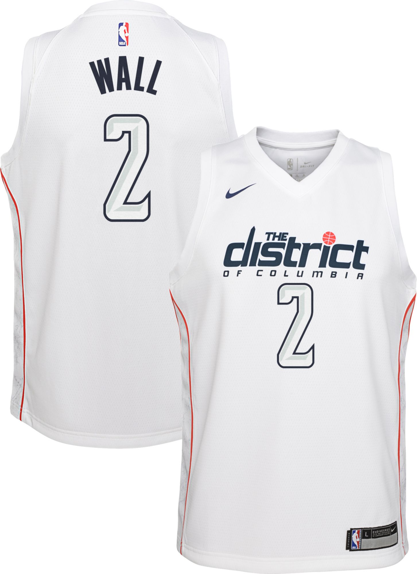 separation shoes 63aa9 f0337 swashington wizards white jersey