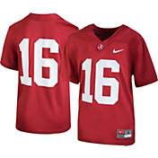 Nike Youth Alabama Crimson Tide #16 Crimson Game Football Jersey