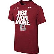 Nike Youth Alabama Crimson Tide 2018 Allstate Sugar Bowl Champions Locker Room T-Shirt