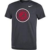 Nike Youth Alabama Crimson Tide Anthracite Travel Football Legend T-Shirt