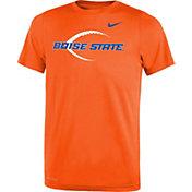 Nike Youth Boise State Broncos Orange Football Icon Legend T-Shirt
