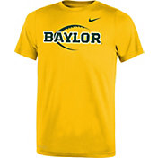 Nike Youth Baylor Bears Gold Football Icon Legend T-Shirt