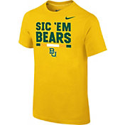 Nike Youth Baylor Bears Gold Local Verbiage T-Shirt