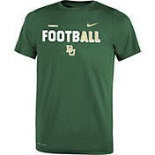 Nike Youth Baylor Bears Green FootbALL Sideline Legend T-Shirt