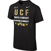 Nike Youth UCF Knights 2018 Chick-Fil-A Peach Bowl Bound Verbiage T-Shirt