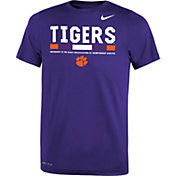 Nike Youth Clemson Tigers Regalia Football Staff Legend T-Shirt