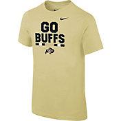 Nike Youth Colorado Buffaloes Gold Local Verbiage T-Shirt