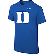 Nike Youth Duke Blue Devils Duke Blue Logo T-Shirt