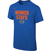 Nike Youth Florida Gators Blue 'Winner Stays' Selection T-Shirt