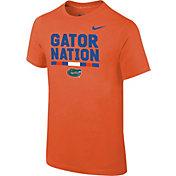 Nike Youth Florida Gators Orange Local Verbiage T-Shirt