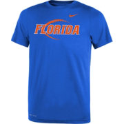 Nike Youth Florida Gators Blue Football Icon Legend T-Shirt