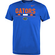 Nike Youth Florida Gators Blue Football Staff Legend T-Shirt