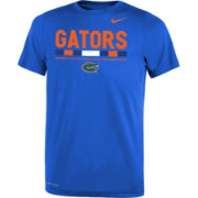 Nike Youth Florida Gators Blue Football Staff Legend T-Shirt