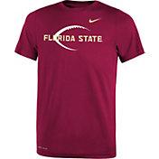 Nike Youth Florida State Seminoles Garnet Football Icon Legend T-Shirt