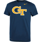 Nike Youth Georgia Tech Yellow Jackets Navy Logo Legend T-Shirt