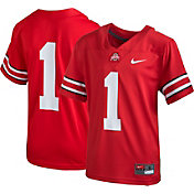 Nike Youth Ohio State Buckeyes #1 Scarlet Game Football Jersey