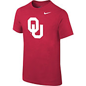 Nike Youth Oklahoma Sooners Crimson Logo T-Shirt